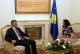 Prime Minister Thaçi informed President Jahjaga about the forthcoming meeting in Brussels